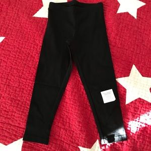 NWT Old Navy girls black tights, size xs/5